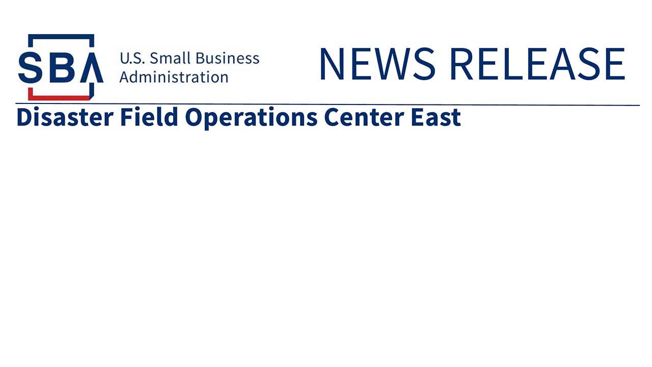 COVID-19 SBA News Release