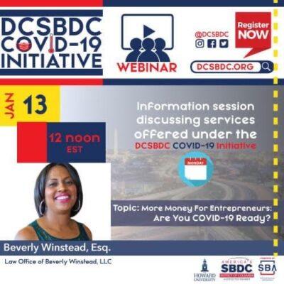 DCSBDC Funding Webinar